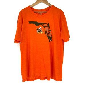BLUE 84 University of Miami Canes Graphic Tee - XL